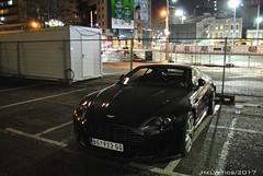 Aston Martin V8 Vantage - Serbia, Belgrade (Helvetics_VS) Tags: licenseplate serbia belgrade astonmartin v8vantage