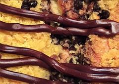 Coffee Cake! (Renee Rendler-Kaplan) Tags: chocolate cake coffeecake northshorekosherbakery delicious chocolatechips rich yummy chicagoist consumerist chicagoreader wbez reneerendlerkaplan iphone iphoneography january 2017 dessert indoors inside buyahalforawholecake bakery