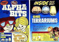 Alphabits Terrariums (joeysplanting) Tags: cereal terrarium terrariums postalphabits