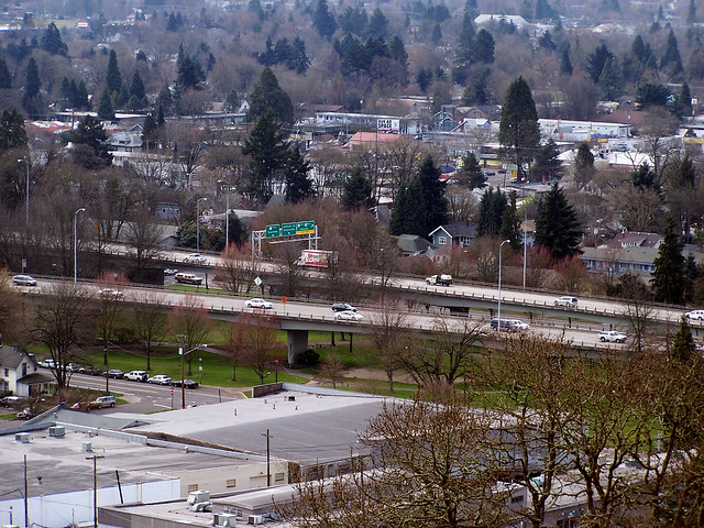 Looking over Eugene 3