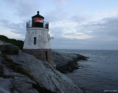 Castle Hill Lighthouse (` Toshio ') Tags: lighthouse topv111 tag3 taggedout tag2 tag1 lovely1 newengland topc rhodeisland 31 castlehill 1on1 toshio mywinners
