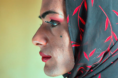 Colorific (Fayyaz Ahmed) Tags: pakistan abstract color male sex female scarf magazine mr transgender conceptual karachi transexual crossdresser gender eunuch hijra nikonstunninggallery nginationalgeographicbyitalianpeople