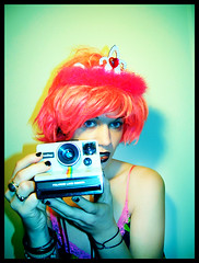 Polaroid Princess (stOOpidgErL) Tags: camera pink portrait selfportrait color green love me girl face female digital self myself polaroid weird crazy rainbow colorful princess unique vivid manipulation 100v10f piercing identity lipring crown minty pinkhair bizarre identitycrisis shocking promqueen digitalmanipulation mintgreen pinkdress mytruelove hotpink myface mpd promdress lippiercing onestep palegreen polaroidcamera myobsession stoopidgerl oldpolaroidcamera polaroidrainbow polaroidprincess pinksequins hotpinkdress rainbowpolaoird sx70camera polalove multiplepersonalitydisorderproject mulitplepersonalitydisorder