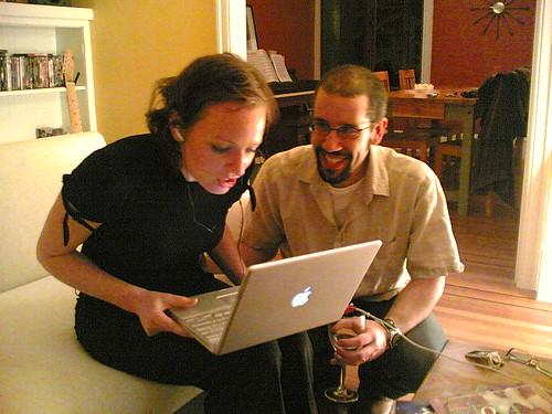 Jeremy & Fiona chez Skylar