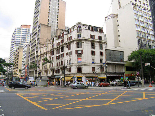 só qdo cruzo a ipiranga e a avenida São joão, foto: Antonio Barreto em CC