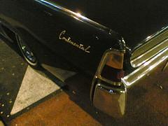 "Vintage ""Continental"" american car (Francesco Rachello) Tags: cameraphone italy milan car vintage nokia italia milano continental 6630 nokia6630 linate"