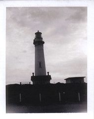 Pigeon Point Lighthouse (brettbigb) Tags: 2003 california lighthouse polaroid lighthouses random highway1 polaroids goodtimes landcamera pigeonpointlig