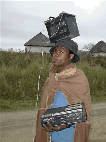 Africký iPod