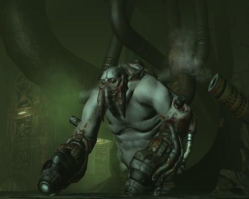 Doom 3: Mancubus by Psycho Al