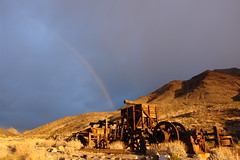 Death Valley Dawn (Echo_29) Tags: dawn rainbow mine desert deathvalley californiadesert talc deathvalleynationalpark warmspringscanyon