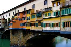 Ponte Vecchio (shutterBRI) Tags: bridge italy color canon photography photo florence italia 2006 powershot shutters firenze a80 pontevecchio shutterbri 85points mireasrealm brianutesch flickrchallengegroup brianuteschphotography