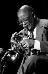 Clark Terry (Belltown) Tags: bw music live performance jazz clarkterry i500 ©brucecmoore