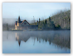 The Morning Fog (LeFon) Tags: canada nature canon amazing bravo gutentag quality qubec brume lovephotography specnature gtaggroup goddaym1