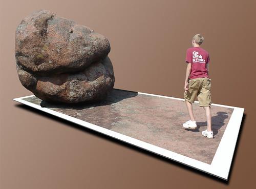 Drew OOB Rock
