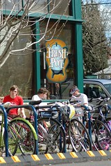 Fresh Pot bike parking