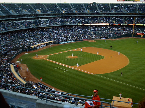 Oakland Coliseum by Monica's Dad.