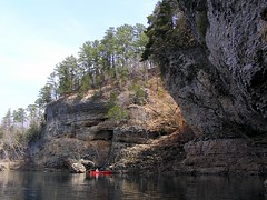 Scenic Bluffs on the Buffalo River