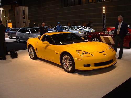 Фото Chevrolet Corvette Z06 (шевроле корвет)