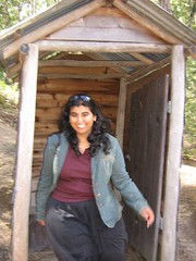 Kanchan checking out the facilities at old mogo town (Princess_Fi) Tags: mogo maluabay