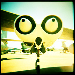 jet engines, b-47 bomber. riverside, ca. 2002. (eyetwist) Tags: california 120 film museum analog mediumformat square march holga airport xpro crossprocessed pod cross desert riverside mechanical crossprocess aircraft toycamera wing jet engine machine halo ishootfilm plasticfantastic plastic bathed socal diana 1950s boeing analogue dianacamera airforce process bomber dianaf atomic usaf fujichrome showcase provia processed vignette turbine arb coldwar plasticcamera afb emulsion nacelle bathedincolour inlandempire rhp b47 betterlivingthroughchemistry marchairreservebase cotcmostinteresting marchafb marcharb marchairforcebase marchfield eyetwist 123toycamera holgaography dramaticcolor 3best contactforstockusage thisimagemaybeavailableforlicensecontactformoreinfo og1960sdianaf