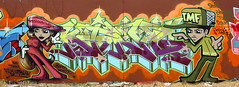 King157 (funkandjazz) Tags: sanfrancisco california graffiti king characters tmf king157 wcf rtm