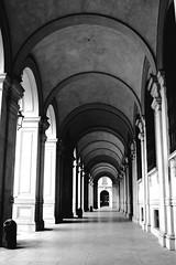 via palazzo di citt (*jos*) Tags: city bw walking torino cities piemonte turin piedmont bncitt tcncorridoio