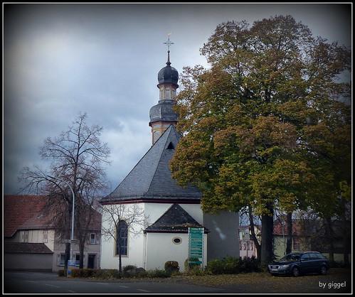 Gutenberg – die evangelische Kirche wurde um 1769 erbaut