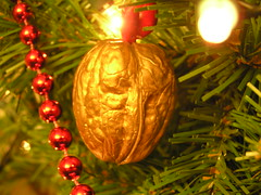 Walnut ornament (Crfullmoon) Tags: december solstice ornaments 2005 macro ornament yuletime