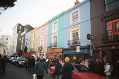 Houses on Portobello Road
