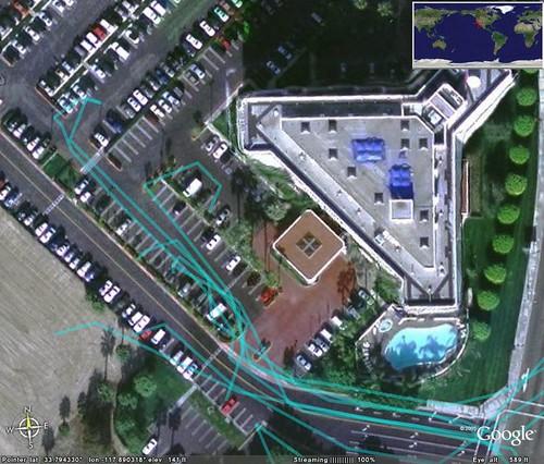 Hotel GPS Tracks