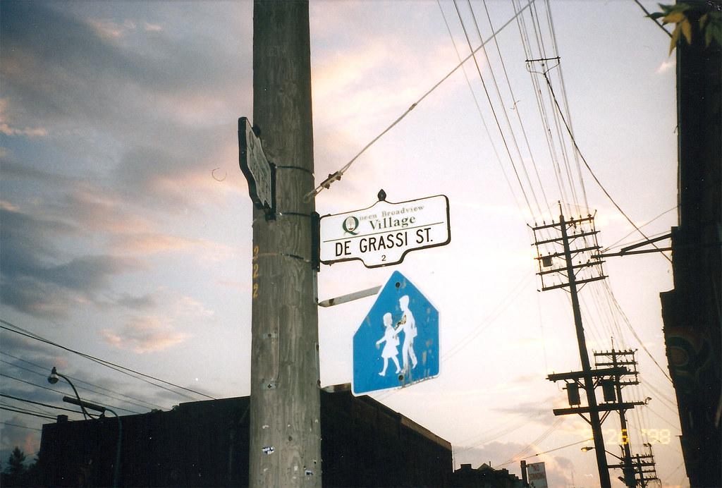Degrassi Street Toronto Ontario
