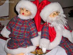 Casal Noel (michellearaujo) Tags: natal noel christmas couple casal toys bonecos papainoel mamenoel