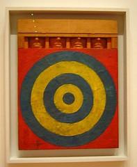 Jasper Johns (pijus) Tags: jasperjohns art diana yellow red blue newyork museum paint ny nyc september moma