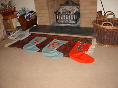 girl's Christmas stockings