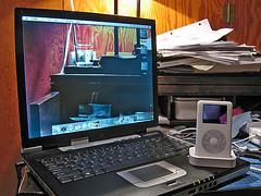Transparent Screen Laptop