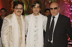 Sanjay Khan Feroz Khan and Zayed Khan