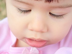 Lashes (mamarosa) Tags: closeup toddler lashes top20childportrait explore top20hallfame mydaughter tc28closeup