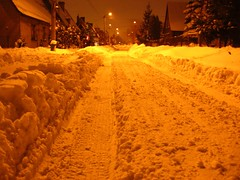 Zima - osiedle (2) (michalp) Tags: winter zima zabrze polska poland silesia slask szczescboze osiedle estate housingdevelopment snow snieg zasypane cover covered bialo white