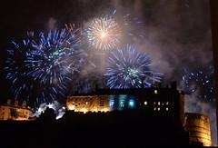 New Year 2006 (Jackie S) Tags: edinburgh edinburghcastle fireworks 2006 newyear hogmanay happynewyear pyrotechnics