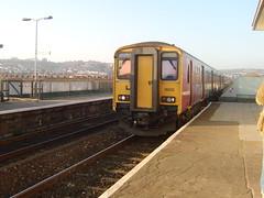 December 28 (1) (togetherthroughlife) Tags: 2005 train railway seawall devon dawlish wessextrains 150232