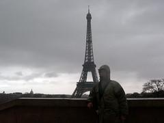 Eiffel Tower and Soggy Karen