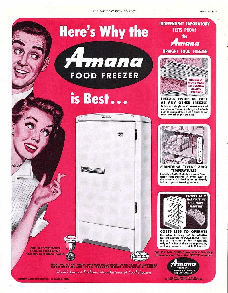 Amana Food Freezer