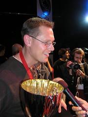 Verdensmester Lee Rammage (geirarne) Tags: 2004 rps rockpaperscissors