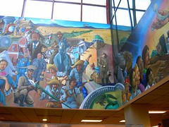 County Building Murals