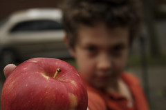 J'apple. (benkay) Tags: jay athome pdx red raw apples apple kids children top20childportrait deleteme deleteme2 deleteme3 deleteme4 deleteme5 deleteme6 deleteme7 saveme deleteme8 deleteme9 deleteme10