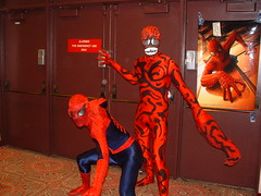 Spiderman and Carnage