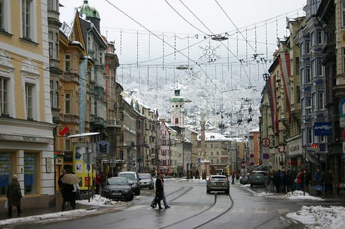 Main street, Innsbruck