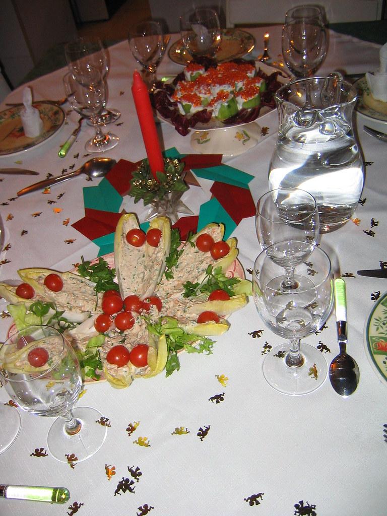 Table Art Déco d'intérieur © by Colette.
