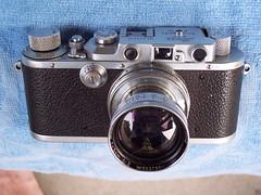 Leica IIIa (1937) with Summitar lens (jiulong) Tags: leica leitz summitar