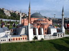 Ayasofya - Hagia Sophia at miniature park; Minyatürk